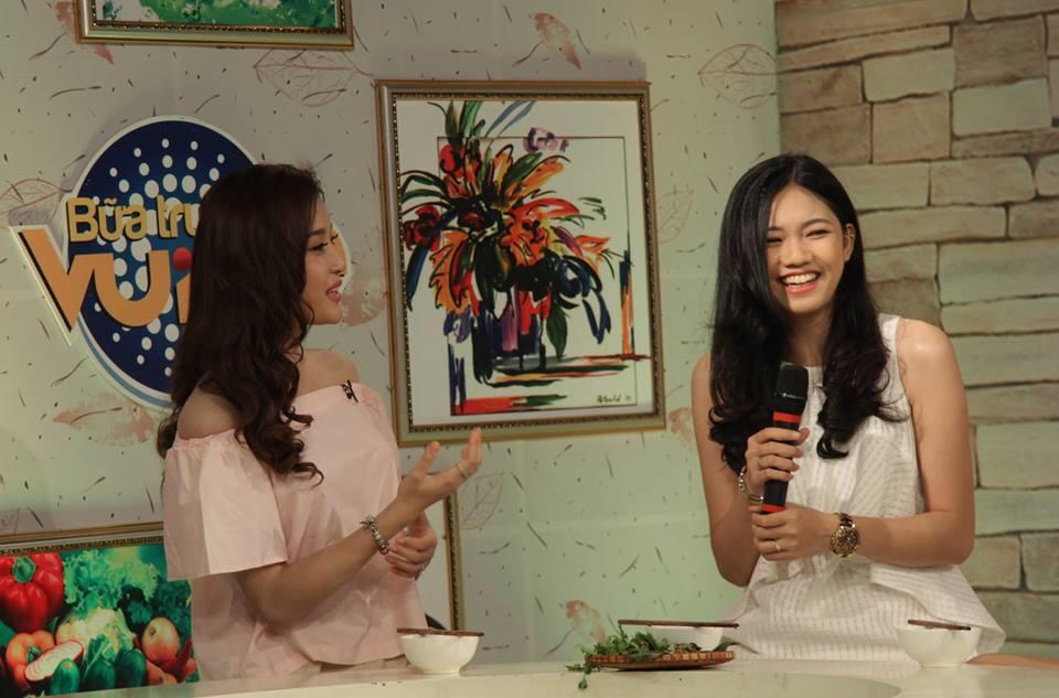 Em gái cao 1m80 của á hậu Trà My đi thi hoa hậu VN - 8