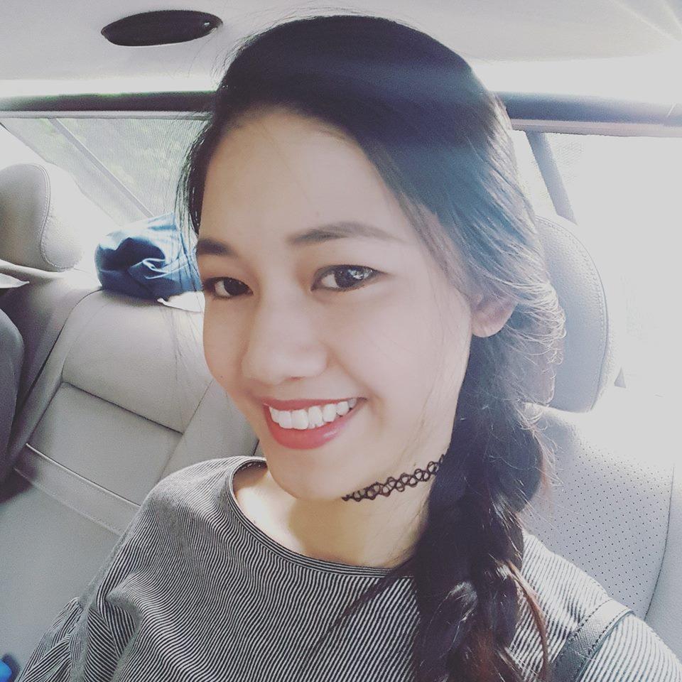 Em gái cao 1m80 của á hậu Trà My đi thi hoa hậu VN - 12