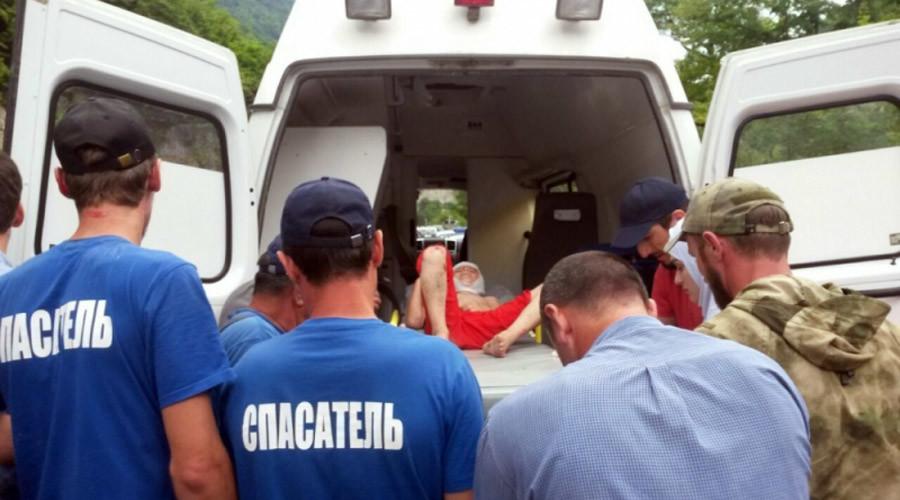 Nga: Em bé rơi xuống hẻm núi sâu 170m vẫn sống - 1