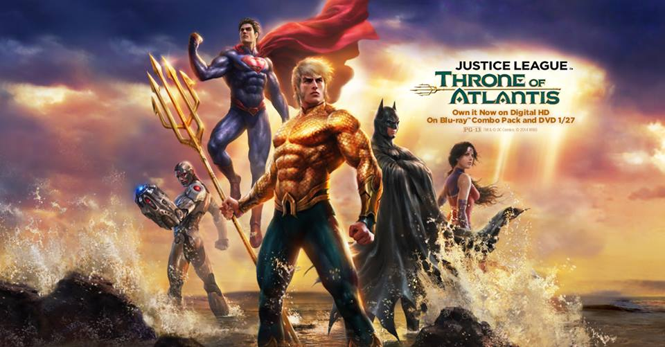 Trailer phim: Justice League: Throne of Atlantis - 1