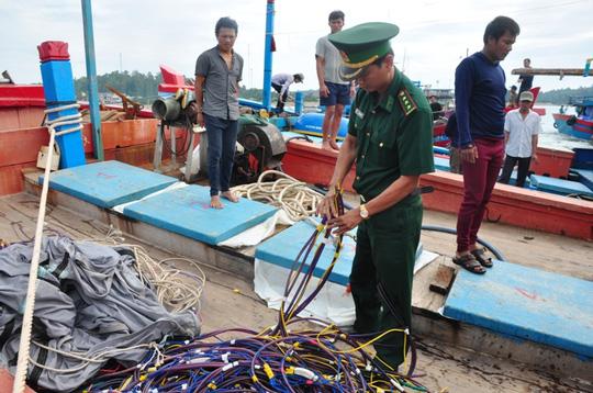 Tàu Trung Quốc là thủ phạm đâm chìm tàu cá Quảng Ngãi - 1
