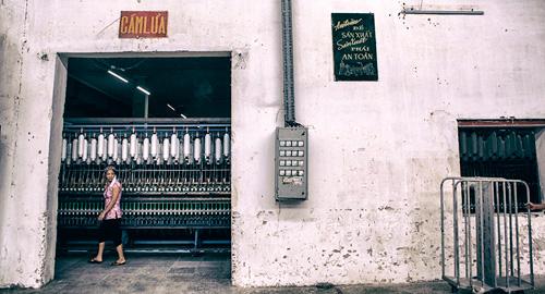 Cận cảnh nhà máy dệt lớn nhất Đông Dương trước ngày phá bỏ - 3