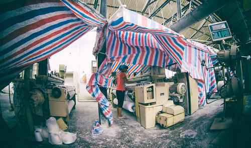 Cận cảnh nhà máy dệt lớn nhất Đông Dương trước ngày phá bỏ - 8