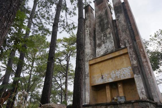 """Khám phá thị trấn """"ma"""" trong rừng ở Campuchia - 2"""