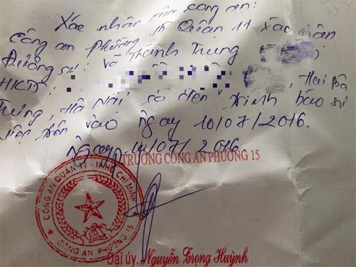 MC Thành Trung bị cướp mất hết tiền bạc, giấy tờ - 2