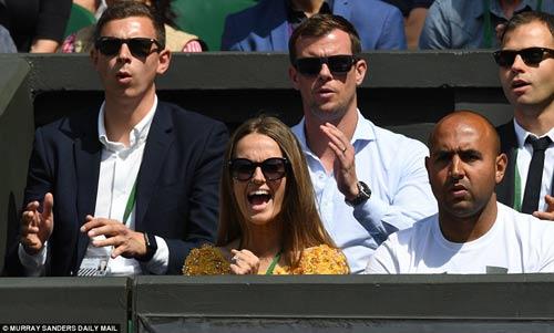 Hoàng gia Anh, bồ cũ Ronaldo & cả tá VIP cổ vũ Murray-Raonic - 3
