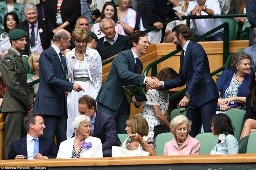 Hoàng gia Anh, bồ cũ Ronaldo & cả tá VIP cổ vũ Murray-Raonic - 5