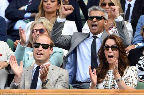 Hoàng gia Anh, bồ cũ Ronaldo & cả tá VIP cổ vũ Murray-Raonic - 6