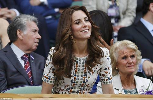 Hoàng gia Anh, bồ cũ Ronaldo & cả tá VIP cổ vũ Murray-Raonic - 7