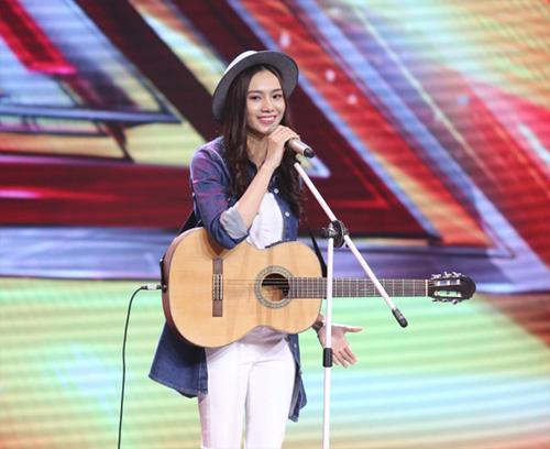 Cô gái giống Mỹ Tâm, Hà Hồ bất ngờ bỏ thi X-Factor - 1