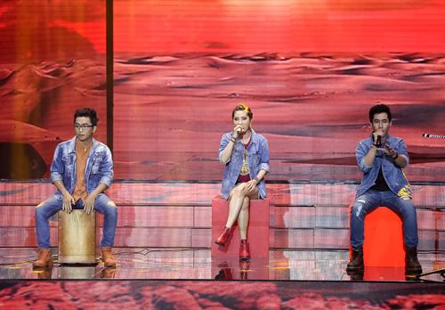 Cô gái giống Mỹ Tâm, Hà Hồ bất ngờ bỏ thi X-Factor - 4