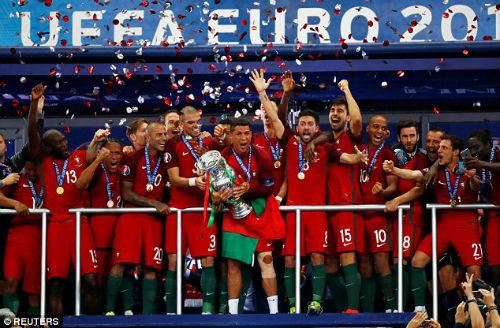 """Ronaldo vào sân """"chỉ đạo"""", Bồ Đào Nha vỡ òa ăn mừng Cup - 11"""