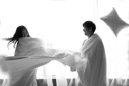 Trọn bộ ảnh cưới trong phòng ngủ của kiều nữ Ngọc Lan - 6