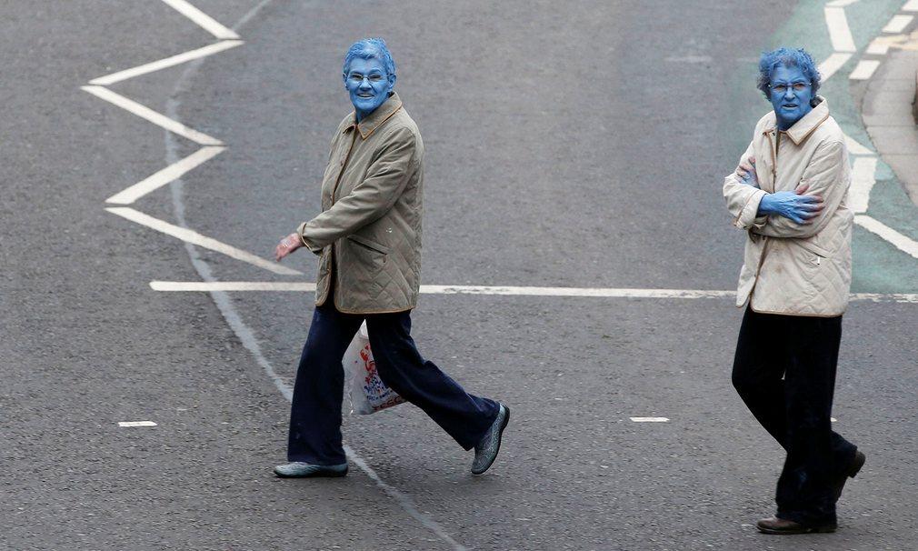 Anh: 3.200 người khỏa thân sơn xanh đi trên phố - 6