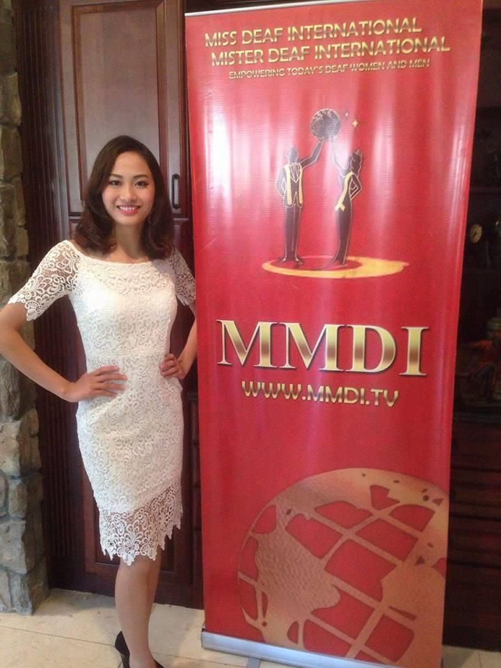 Cô gái Việt giành giải Á hậu Điếc Quốc tế 2016 - 4