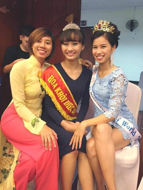 Cô gái Việt giành giải Á hậu Điếc Quốc tế 2016 - 9