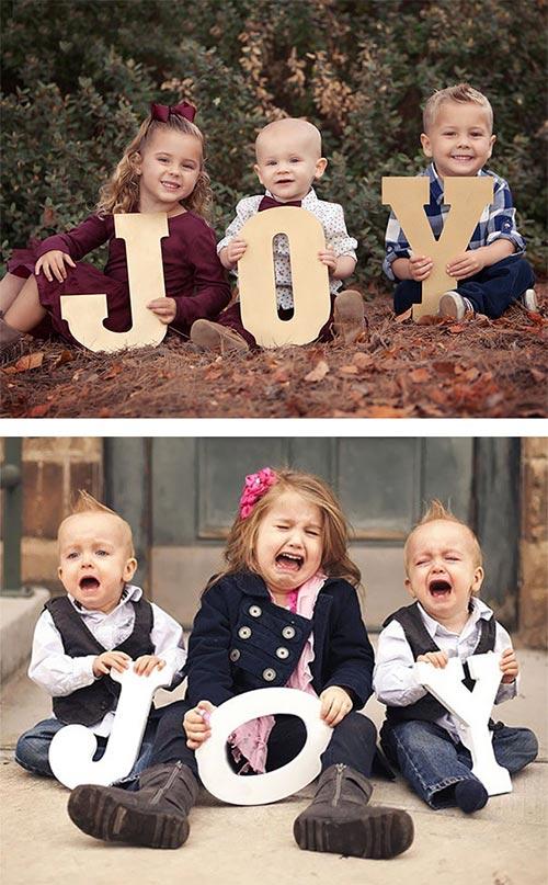 """Bi hài những bức ảnh """"bắt chước"""" của các em bé - 4"""