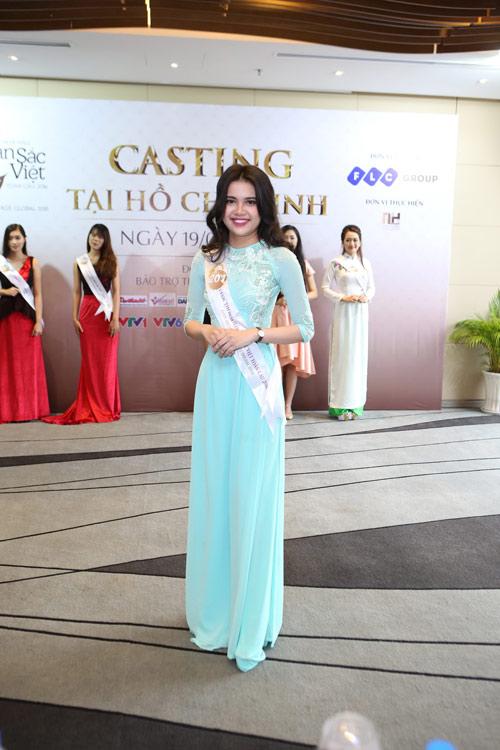 Bán kết khu vực phía Nam Hoa hậu Bản sắc Việt toàn cầu - 1