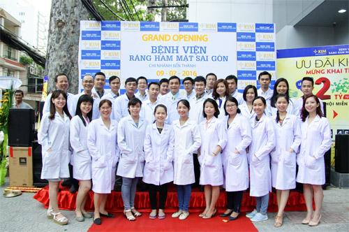Gần 2000 người dự khai trương Bệnh viện Răng Hàm Mặt Sài Gòn - 4