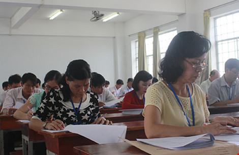 Thi tốt nghiệp THPT: Một số trường đã chấm xong môn trắc nghiệm - 1