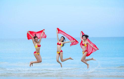 An Nguy, Mai Ngô lọt vòng nguy hiểm của thử thách Bikini Vietjet - 10