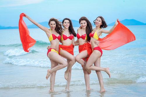 An Nguy, Mai Ngô lọt vòng nguy hiểm của thử thách Bikini Vietjet - 5