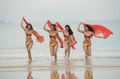 An Nguy, Mai Ngô lọt vòng nguy hiểm của thử thách Bikini Vietjet - 6