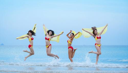 An Nguy, Mai Ngô lọt vòng nguy hiểm của thử thách Bikini Vietjet - 7