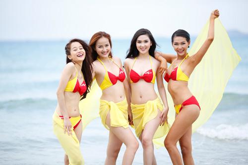 An Nguy, Mai Ngô lọt vòng nguy hiểm của thử thách Bikini Vietjet - 8