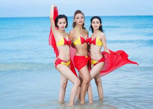 An Nguy, Mai Ngô lọt vòng nguy hiểm của thử thách Bikini Vietjet - 9