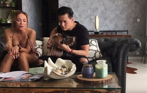 Diva Thanh Hà gây sốt khi cover hit của bạn gái Trấn Thành - 1