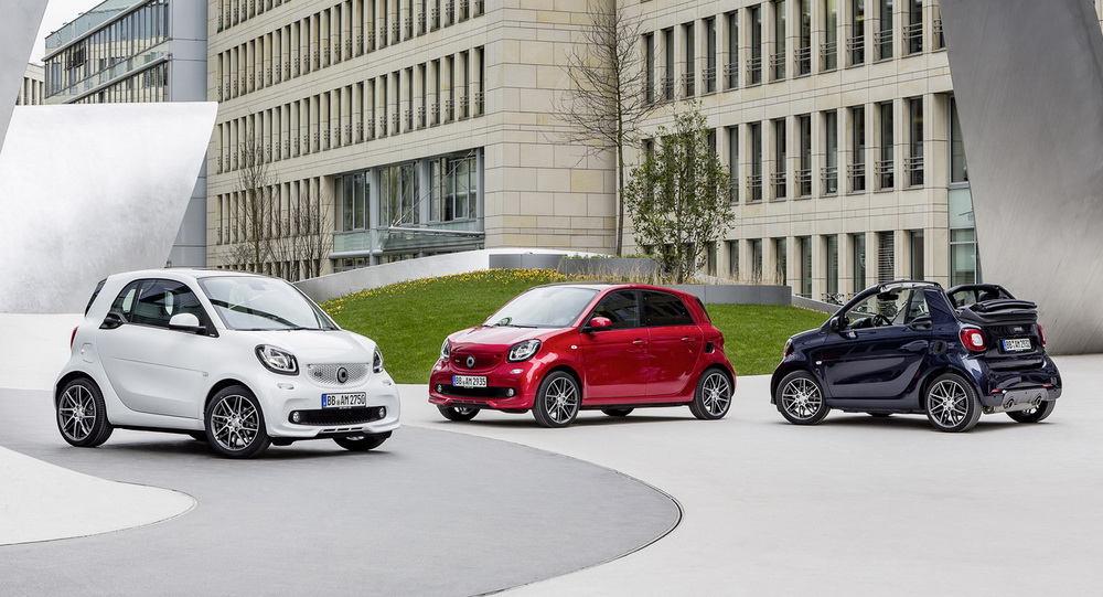 Công bố giá xe nhỏ Smart Brabus - 3