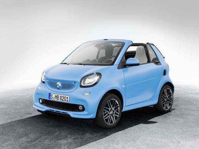 Công bố giá xe nhỏ Smart Brabus - 2