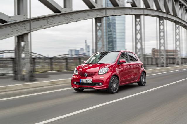 Công bố giá xe nhỏ Smart Brabus - 4