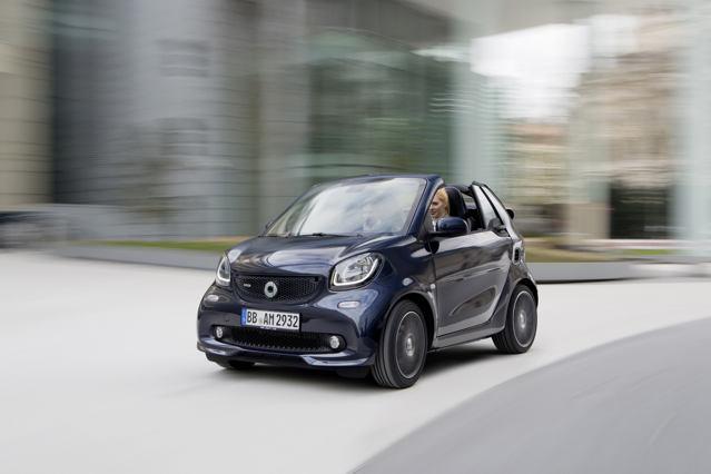 Công bố giá xe nhỏ Smart Brabus - 8