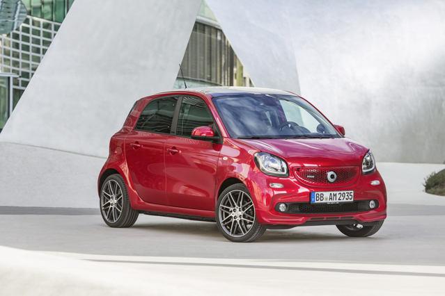 Công bố giá xe nhỏ Smart Brabus - 7