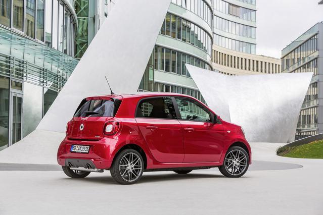 Công bố giá xe nhỏ Smart Brabus - 6