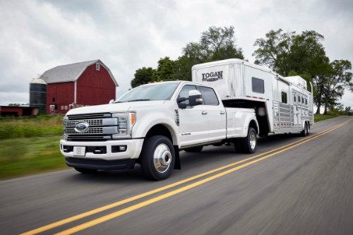 Ford Super Duty 2017 siêu khỏe mang thùng tải 14 tấn - 1