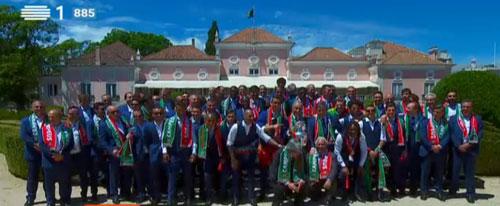Biển người chào đón Bồ Đào Nha, Ronaldo ở quê nhà - 1