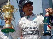 """BXH British GP: Rosberg """"ngai vàng lung lay"""""""