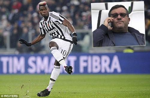 """Juventus ra tay, Pogba bất ngờ """"trở mặt"""" với MU - 1"""