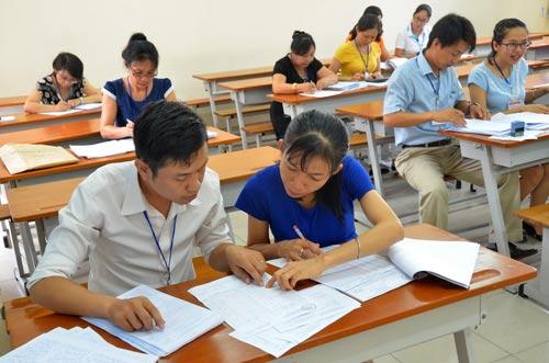 Chấm thi THPT quốc gia: Vắng điểm 10 - 1