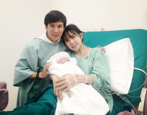 Vợ Lý Hải vừa sinh con thứ 4 là bé trai - 1