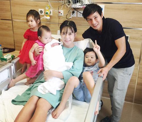 Vợ Lý Hải vừa sinh con thứ 4 là bé trai - 5
