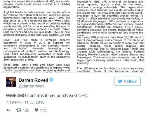 Đổi chủ 4 tỷ đô, làng UFC chao đảo - 2