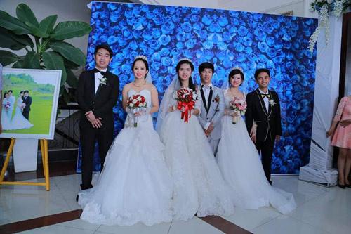 Ba chị em ruột ở Vũng Tàu làm đám cưới chung một ngày - 1