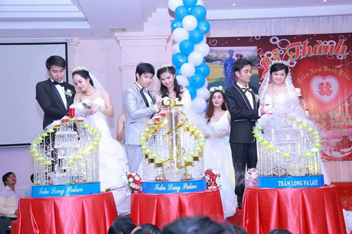 Ba chị em ruột ở Vũng Tàu làm đám cưới chung một ngày - 3
