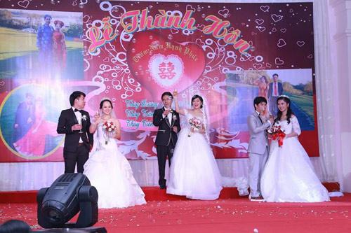 Ba chị em ruột ở Vũng Tàu làm đám cưới chung một ngày - 5