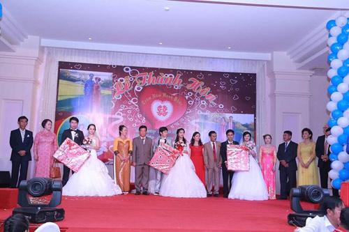 Ba chị em ruột ở Vũng Tàu làm đám cưới chung một ngày - 6