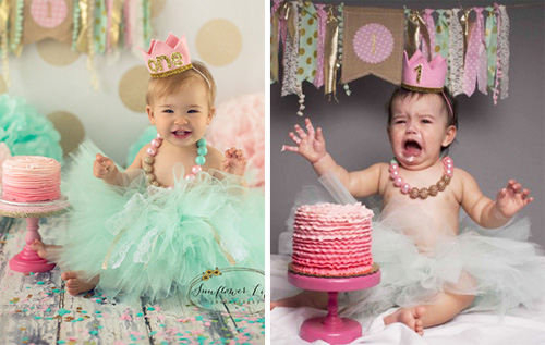 """Nỗi lòng của em bé khi bị bố mẹ """"ép"""" đi chụp hình - 3"""
